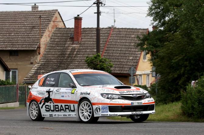 Vojtěch Štajf, Subaru Czech Rally Team