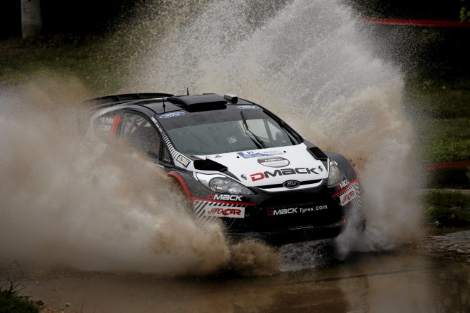 Martin Prokop (CZ) / Z. Hruza - Ford Fiesta RS WRC. Shakedown, 2012 Rally Argentina