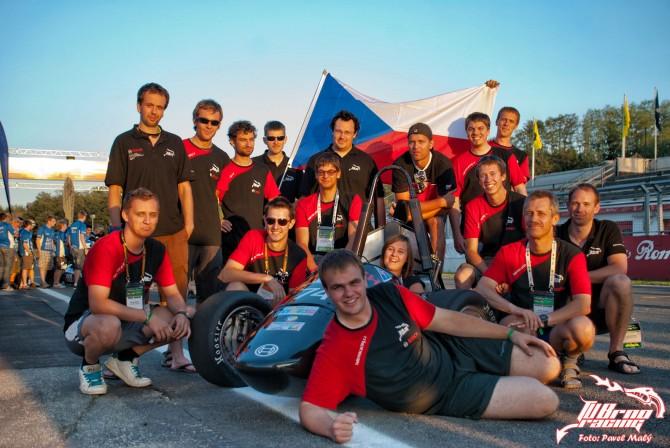 Tým TU Brno Racing