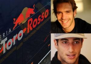 Tým Toro Rosso se svými zbraněmi Vergne a Ricciardo!