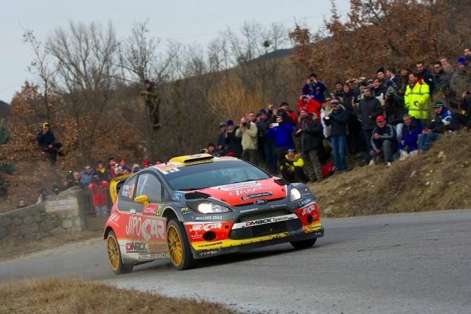 Jipocar Czech National Team, Rallye Monte Carlo 2013