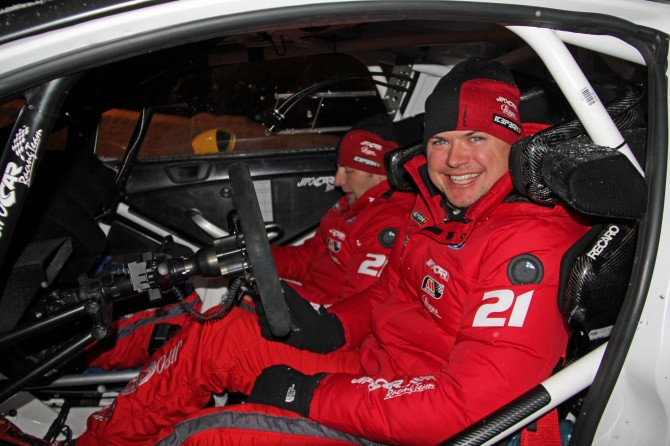 Martin Prokop a Michal Ernst, Rally Sweden 2013